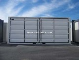 CONTAINER DE STOCKAGE OPEN SIDE NEUF 20 PIEDS